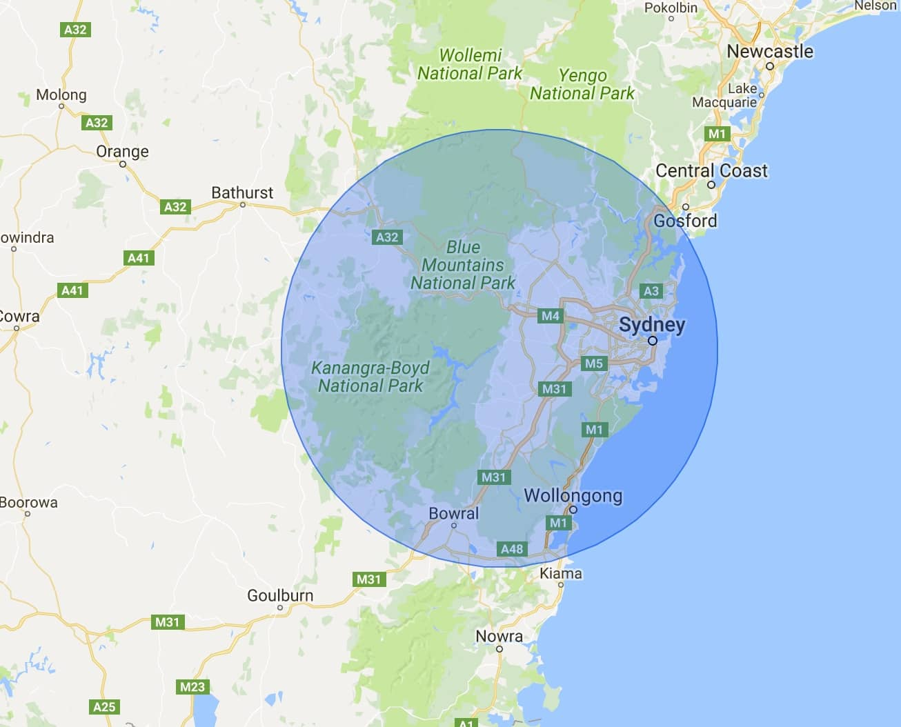 brisbane service locations